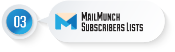 MainMunch - Subscribers Lists